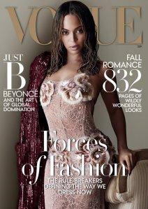 Beyonce - September Vogue 2015