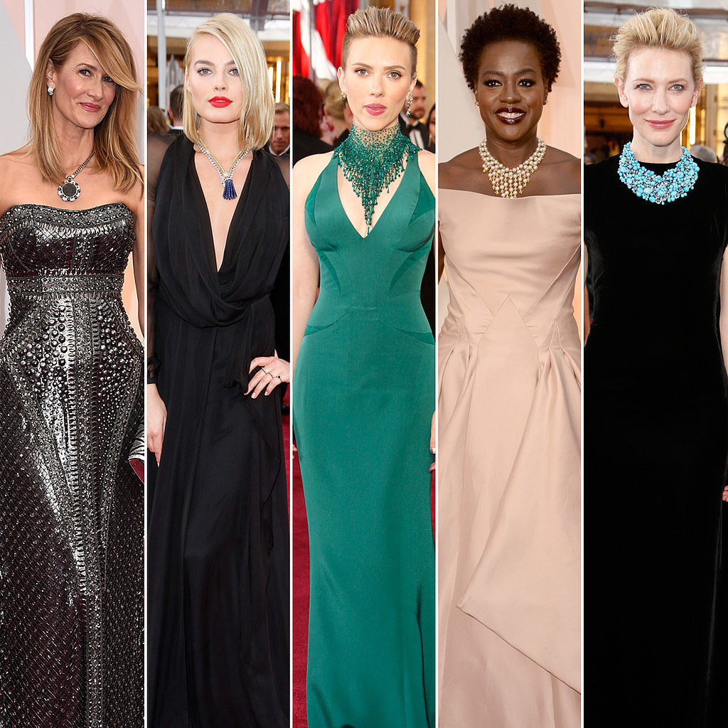 Statement Jewelry 2015 Oscar Red Carpet