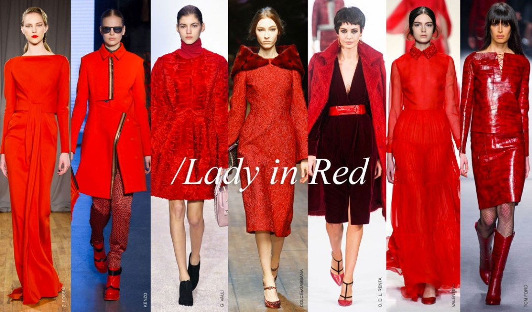 Fall / Winter Color Trend RED