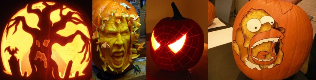 Kick Up Your Celebration With Uniquely Carved Jack-o'-lanterns