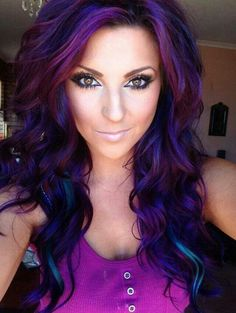 Purple Hair 1
